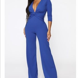 Knot One To Play with Jumpsuit